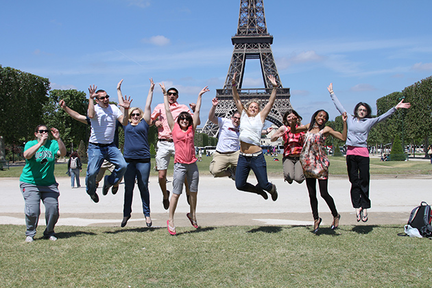 Neag students in Paris